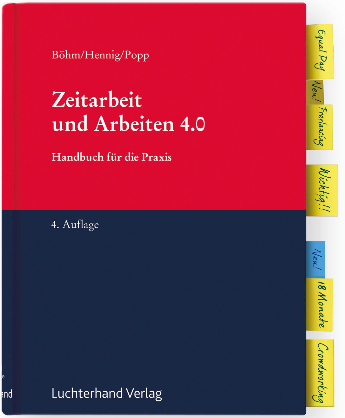 Zeitarbeit und Arbeiten 4.0 – Handbuch für die Praxis